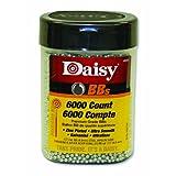 Gamo 98006Daisy 980060-444 6000 ct BB Bottle (Silver, 4.5 mm), Black