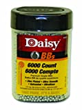 Daisy Outdoor Products 6000 ct BB Bottle (Silver, 4.5 mm), Outdoor Stuffs