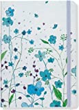 Blue Flowers Journal (Notebook, Diary) (Small Format Journals) by Peter Pauper Press (2008-02-01)