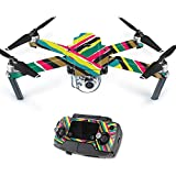 Skin For DJI Mavic – Split Color | MightySkins Protective, Durable, and Unique Vinyl Decal wrap cover | Easy To Apply, Remove, and Change Styles | Made in the USA