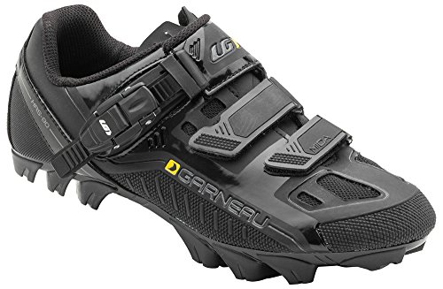 Louis Garneau - Women's Mica MTB Bike Shoes, Black, US (11), EU (42) by Louis Garneau