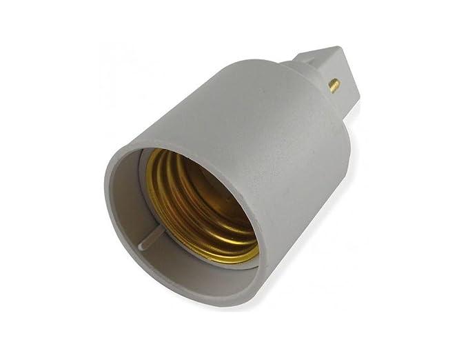 Adattatore g24 e27 per solo lampadine a led: amazon.it: illuminazione