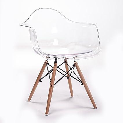 LHcy Poltrona trasparente della sedia della sedia poltrona semplice ...