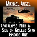 Apocalypse with a Side of Grilled Spam: Episode One (The Strangelets Series) Audiobook by Michael Angel Narrated by Jon Goffena