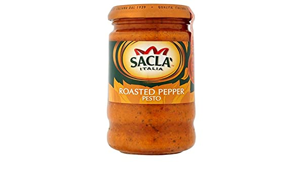 Sacla pimiento rojo asado Pesto 190g: Amazon.es: Hogar