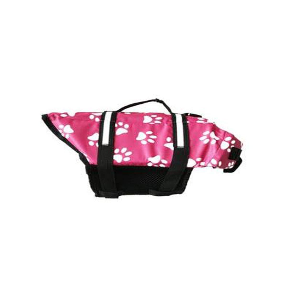 Pink A XL Youshangshipin Life Jackets, Portable Dog Swim Vest, Oxford Cloth, Such As Multicolor Options Pink (Size   L, XL, XXL) Wear Resistant