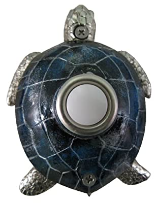 Waterwood Blue Nickel Plated Turtle Doorbell