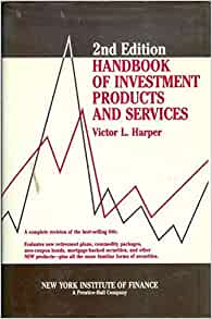 handbook of investment products and services