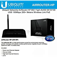 Ubiquiti AIRROUTER-HP airRouter AR-HP IEEE 802.11n Ethernet Wireless Router - 2.40 GHz ISM Band - 1 x Antenna1 x External) - 656.2 ft Indoor Range - 150 Mbps Wireless Speed - 4 x Network Port - 1 x Broadband Port - USB - Fast Ethernet - No Desktop