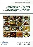 Le répertoire des gestes et des techniques de cuisine