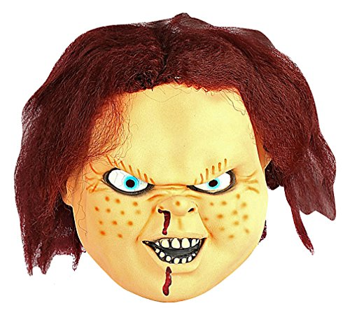 Maze Really Scary Grotesque Evil Child Doll Latex