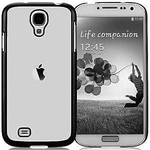 Shiny Grey Apple Durable High Quality Samsung Galaxy S4 I9500 Case