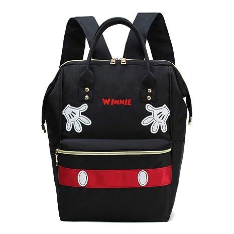 LVLUOYE bolsa de asas del pañal, Madre y niño bolsa portátil Oxford Anti-Splash