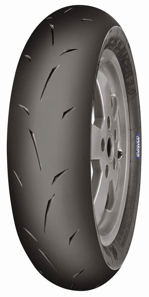 MITAS - 48188 : Neumá tico Mc 35 S-Racer 2.0 - 12'' 120/80-12 55P Tl Racing Soft