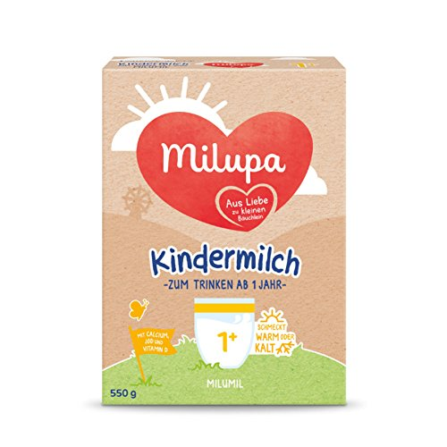 Milupa Milumil leche para niños de 1 año 550g, paquete de 5 (5 x