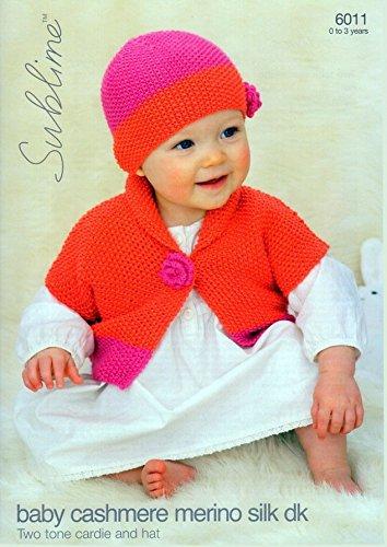 Amazon Sublime Baby Cardigan Hat Cashmere Merino Silk