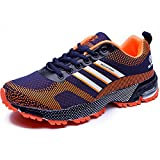 CHNHIRA Mens Trainers Shoes Running Hiking Trekking Waterproof Shoes Sports Run Sneakers