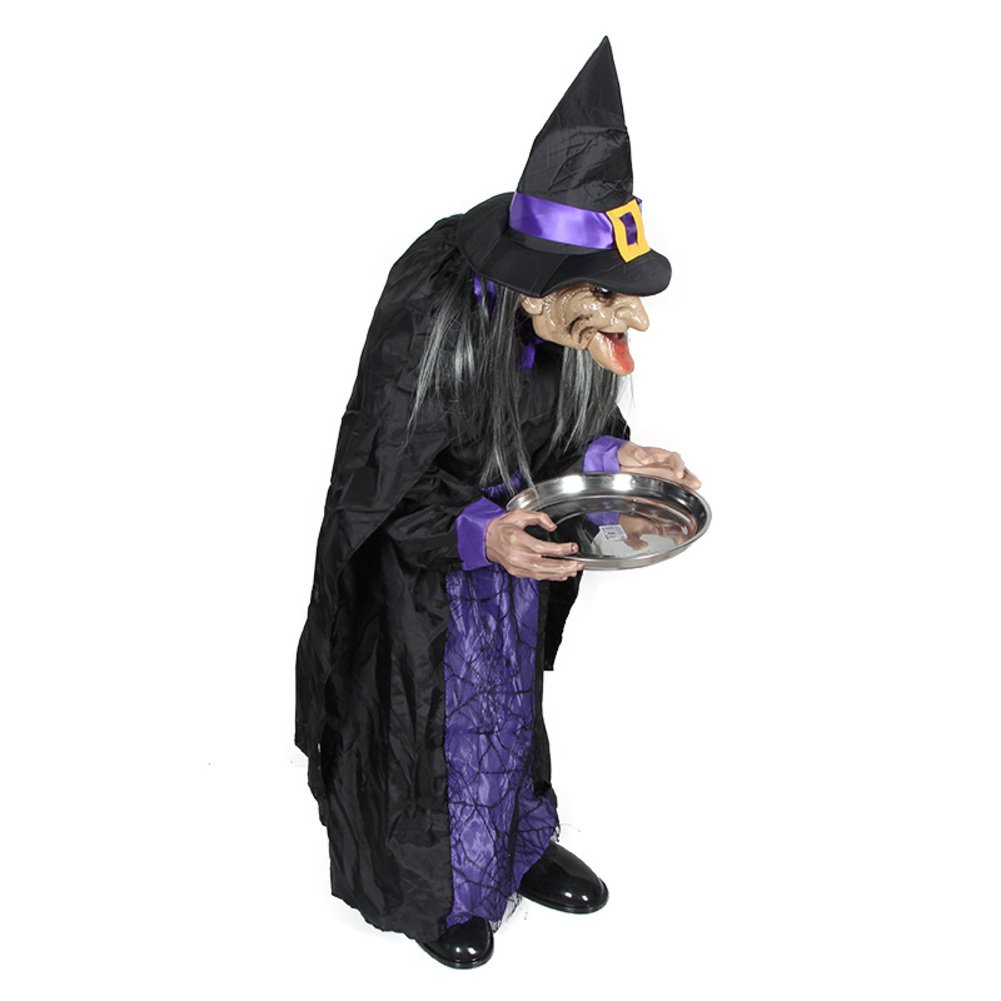 Bar decorative props Halloween Party/Witch servant induction luminous clothing-A by DZDWJ