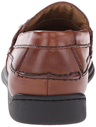 Dockers Sinclair Hommes Marron Large Cuir Chaussures Mocassins EU 41