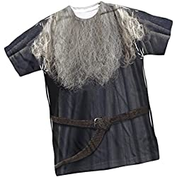Gandalf Costume -- Lord Of The Rings Front Print Sports Fabric Youth T-Shirt, Youth X-Large (16/18)