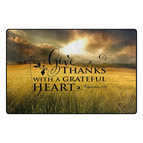 Abbylife Bible Quotes Verses Give Thanks with A Grateful Heart 23.6