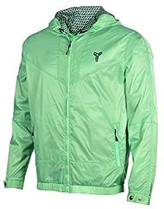 Nike Men's KOBE Windrunner Lightweight Basketball Jacket-Green-Large