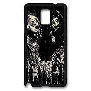 Fit Case with Abstract Painting Versus Printed Plastic and TPU Back Case Cover for Samsung Galaxy Note 4