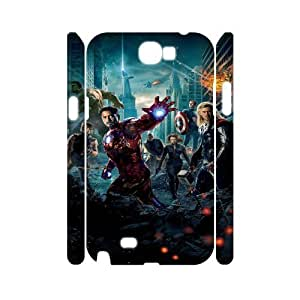 The Avengers YT7036622 3D Art Print Design Phone Back Case Customized Hard Shell Protection Samsung Galaxy Note 2 N7100