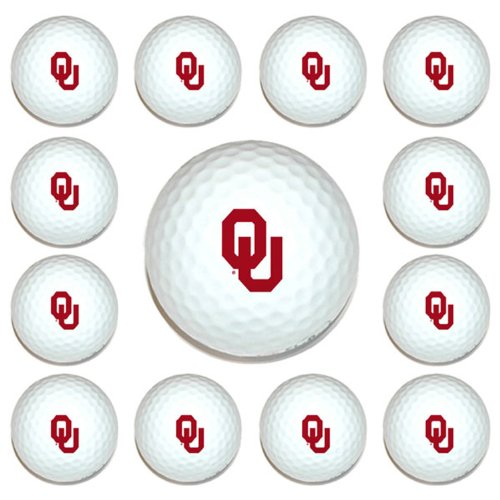 NCAA Oklahoma 12-Pack Team Golf Balls