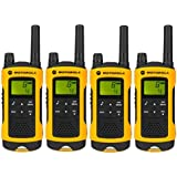 MOTOROLA TLKR T80 EXTREME WITH CASE PMR 446 WALKIE RANGE UP TO 10KM - QUAD PACK