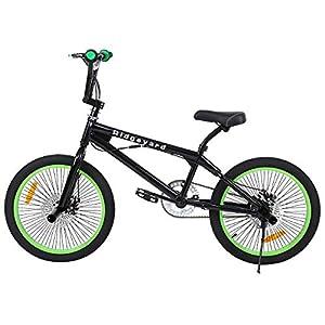 Ridgeyard 20 Inch BMX Bicycle Freestyle Mountain Bike 360 °Rotor