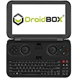 GPD WIN by DroidBOX June 5 Update Aluminum Top Cover Version X7-Z8750 Windows 10 Powered Gaming Portable Console 5.5 OGS LCD Display, Up to 2.56GHz CPU, 4GB RAM, 64GB ROM