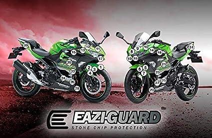 Eazi-GuardTM Gravilla Protección para un Kawasaki Ninja 250 ...