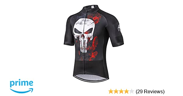 53a901c7f Amazon.com   Weimostar Summer Men s Bicycle Short Sleeve Jersey Top    Sports   Outdoors