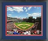 "Globe Life Park Texas Rangers MLB Stadium Photo (Size: 22.5"" x 26.5"") Framed"