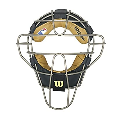 Image of Catcher Masks Wilson Dyna-Lite Titanium Umpire's Facemask