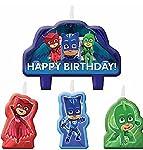 Masks PJ Mini Candle Set (4pc)