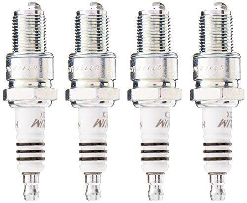 NGK 5044 BR8EIX Iridium IX Spark Plug, Pack of 4