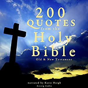 200 Quotes from the Holy Bible Audiobook