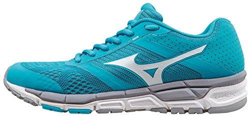 Mizuno Hardloopschoenen Sneakers Dames Synchro Mx Blauw Grijs Blauw