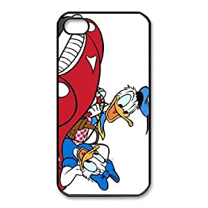 iphone4 4s Phone Case Black Mr. Duck Steps Out Daisy Duck CYL8671927