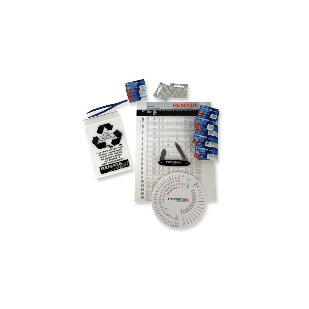 Top 10 Jewelry Gift Renata Pro-pack Watch Battery Assortment by Jewelry Brothers Gifts (Image #1)