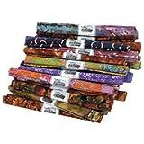 "Bulk Buy: Fabric Editions Fat Quarter Print & Novelty Assortment 18""X21"" 1/Pkg-Dark 1/Pkg MDGFQ-DRK (36-Pack) offers"