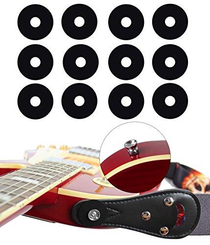 YMC Guitar Protector Premium Strap Locks (6 Pair) - Nitro Leather