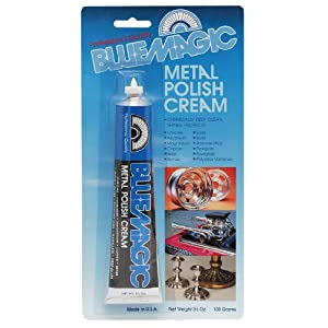 Blue Magic 300 Metal Polish Cream - 3.5 oz.