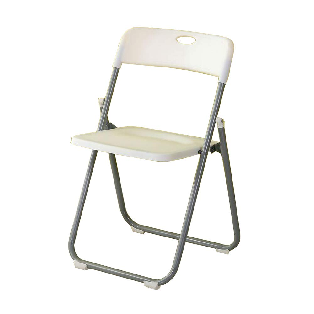 Amazon com dall folding desk chairs camping dining chair foldable comfortable office reception color white kitchen dining