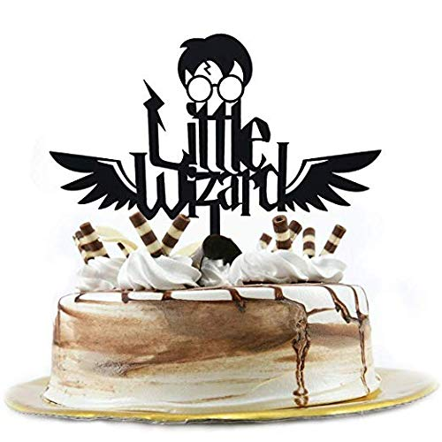 Cake Topper Seagold Harry Potter Toppers Little Wizard Decoration Birthday Theme Party Cupcake Decorating Supplies Amazon Grocery Gourmet