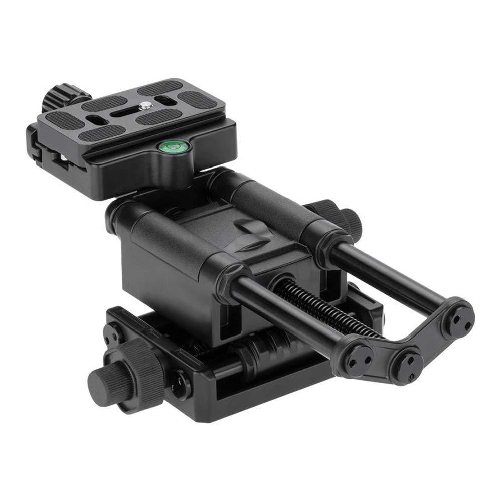 Mhomrs - Riel de Enfoque Macro de 4 vías para cámara réflex Canon ...
