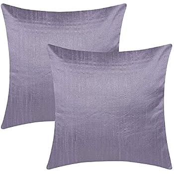 Amazon Com The White Petals Slate Purple Throw Pillow