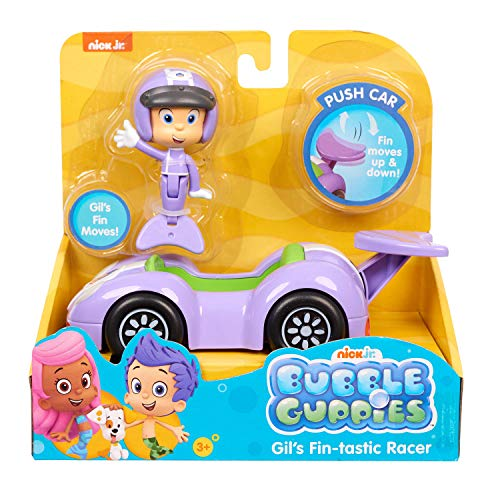 Nick Jr Toys (Bubble Guppies Vehicle & Gil Toy,)
